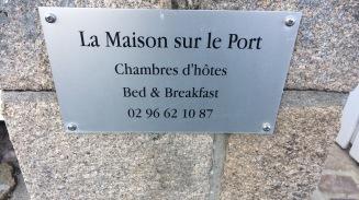 Un paradis sur terre, à Dahouët sur le port, c'est l'endroit qui m'a inspiré mon livre. Pour un week-end romantique, je vous recommande le lieu.